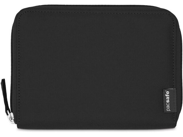 Pacsafe RFIDsafe LX150 Cartera Pasaporte Cremallera, black